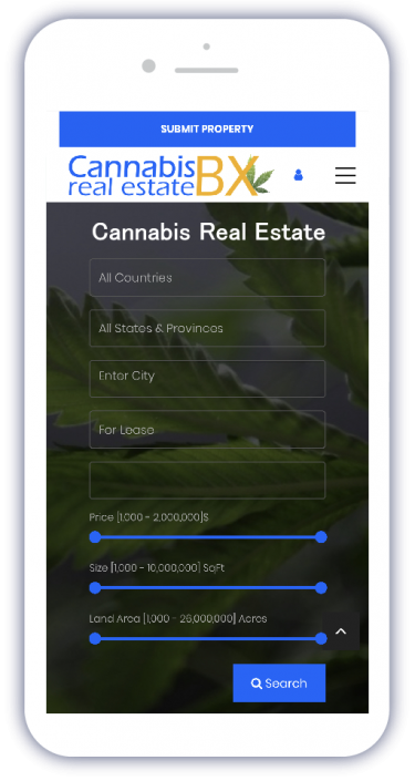 Mobile Image CBX Cannabis Real Estate